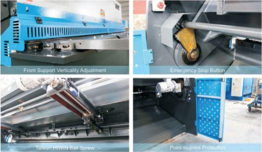 Guilhotina hidráulica CNC