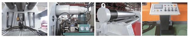 Calandra CNC - 4 Rolos
