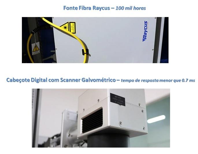 Máquina de Gravação a Laser Aberta
