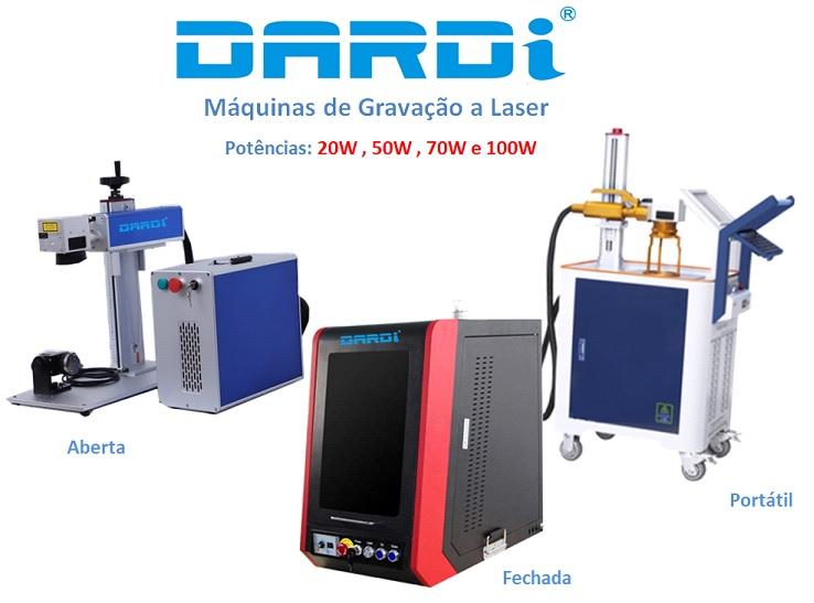 Máquina de Gravação a Laser Fechada